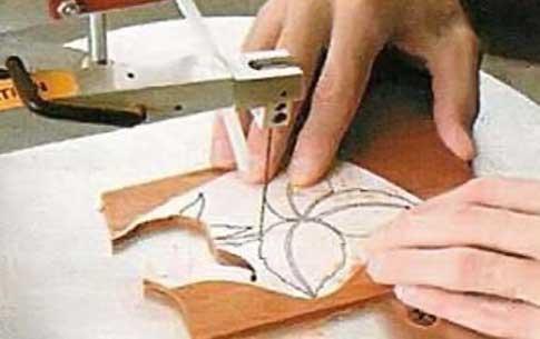 Как из фанеры сделать рисунок