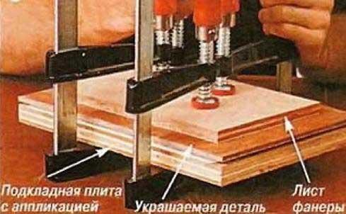 Как склеить фанеру между собой