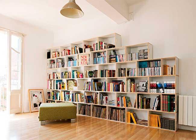 Стеллаж для книг своими руками