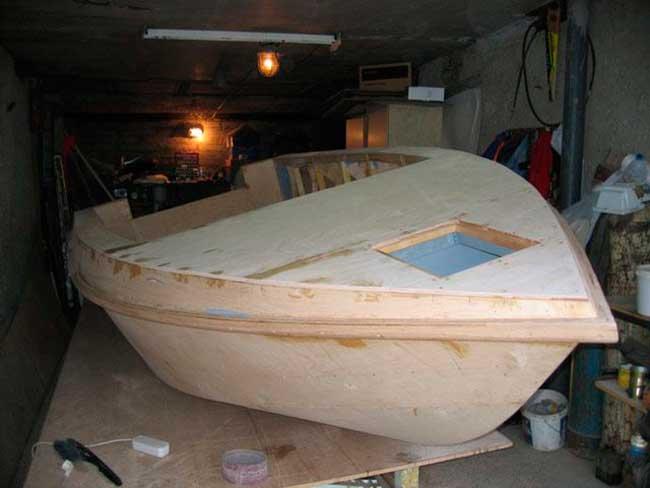 Как сделать из стеклопластика лодку своими руками