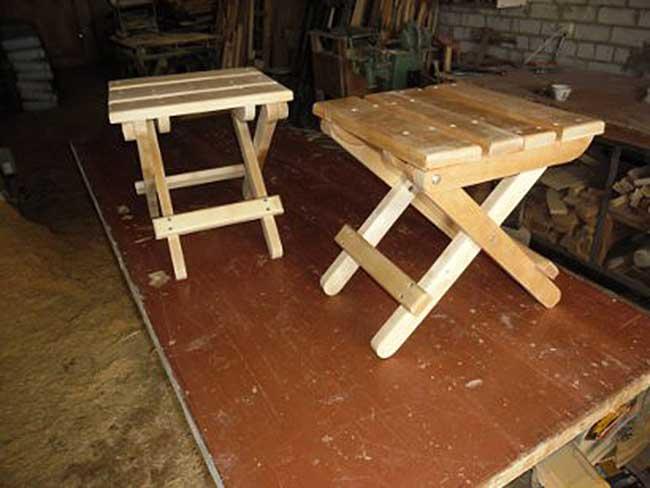 Как в домашних условиях сделать раскладной стул