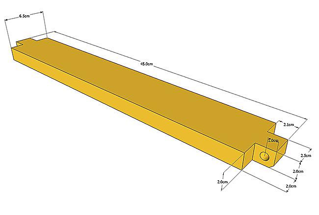 детали для установки ящика 1