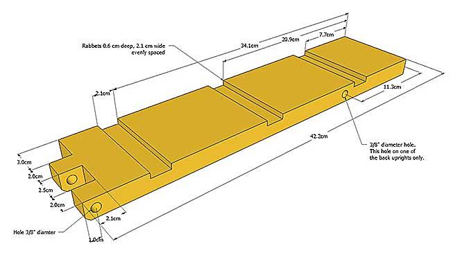 детали для установки ящика 4