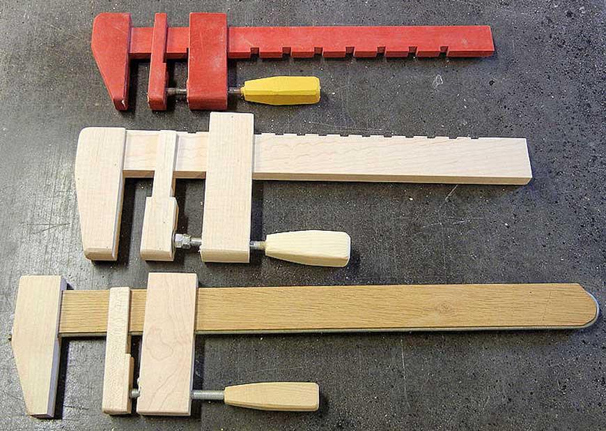 Как сделать столярные струбцины своими руками 66