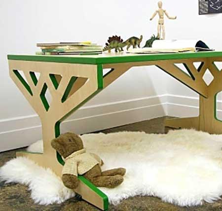Детский стол из фанеры своими руками фото 987